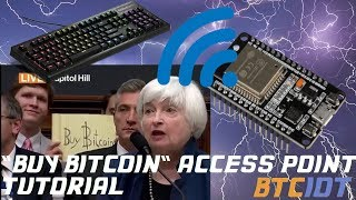 "BTCIOT Tutorial - ""Buy Bitcoin"" Access Point & Cypherpunk Manifesto Captive Portal"